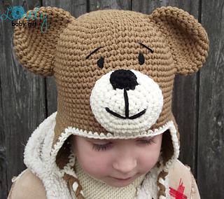 Free Crochet Patterns Teddy Bear Hat : Ravelry: Teddy Bear Hat pattern by Viktorija Dineikiene