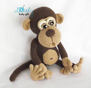 Amigurumi Orangutan Pattern : Ravelry: Amigurumi Monkey pattern by Viktorija Dineikiene