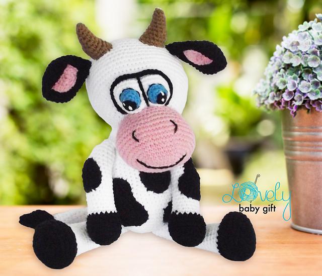 Ravelry Cow Amigurumi Pattern By Viktorija Dineikiene