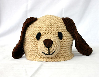 Ravelry  Baby and toddler puppy dog hat pattern by Alaina Smith b1d8c7f92d7