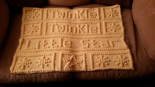 Ravelry Twinkle Twinkle Little Star Baby Blanket Pattern