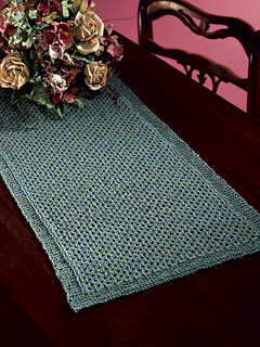 Ravelry Lattice Table Runner Pattern By Laura Polley