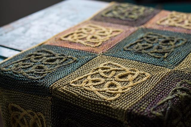 Источник вдохновения кельтские узоры: 50 вязаных моделей
