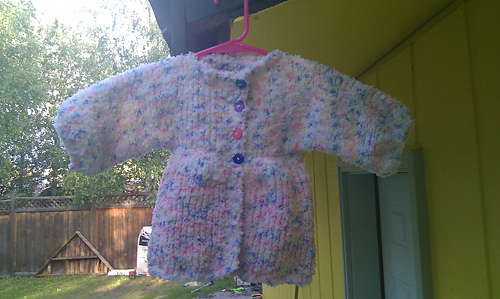 Ravelry All In One Baby Cardigan Pattern By Marg Coe
