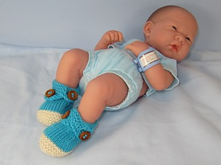 Baby_2_colour_cross_strap_booties03_small2