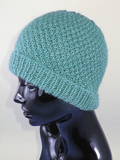 Ravelry  Double Moss (Seed) Stitch Beanie Hat pattern by Christine Grant 6443be11781