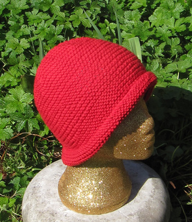 Ravelry  Simple Garter Stitch Roll Brim Beanie Hat pattern by Christine  Grant c257aebd15f