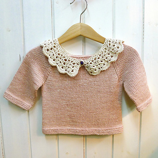 Ravelry peter pan collar pattern by emma escott dt1010fo