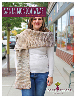adb68e8d8137d2 Ravelry  Santa Monica Wrap pattern by Sally Brandl