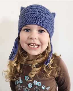Ravelry  Soft Kitty Toddler Cat Hat pattern by Mel Harrison e2ea6de9eac