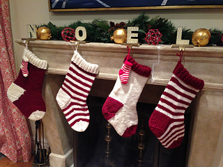 Knitting Christmas Stocking Pattern Free.Ravelry Jumbo Christmas Stocking In A Jiffy Solid Pattern By