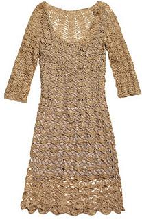 22ce19504 Ravelry  Vestido de crochê pattern by Manequim Online