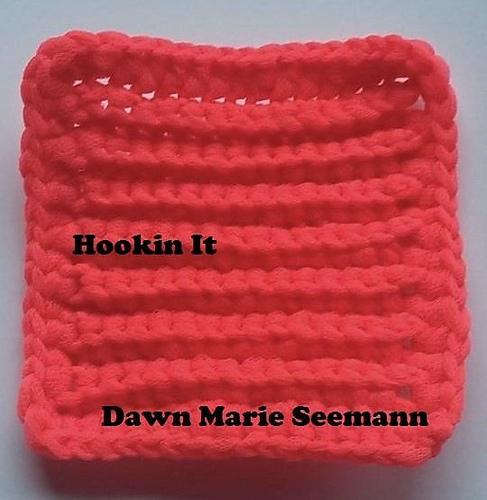 Tulle Dish Scrubbie Pattern By Hookin It