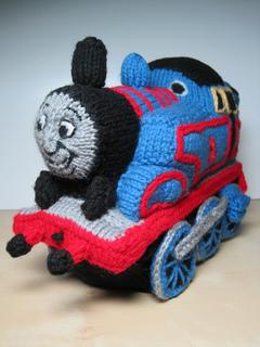 Ravelry: Thomas the Tank Engine pattern by Alan Dart