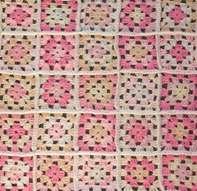 Ravelry Easy Granny Square Baby Blanket Pattern By Marianna Mel