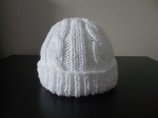 Ravelry  Cabled Baby Hat pattern by marianna mel 0ea1e6401ac