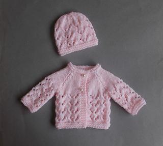 Preemie Knit Patterns : Ravelry: Little Bibi - Preemie Baby Set pattern by marianna mel