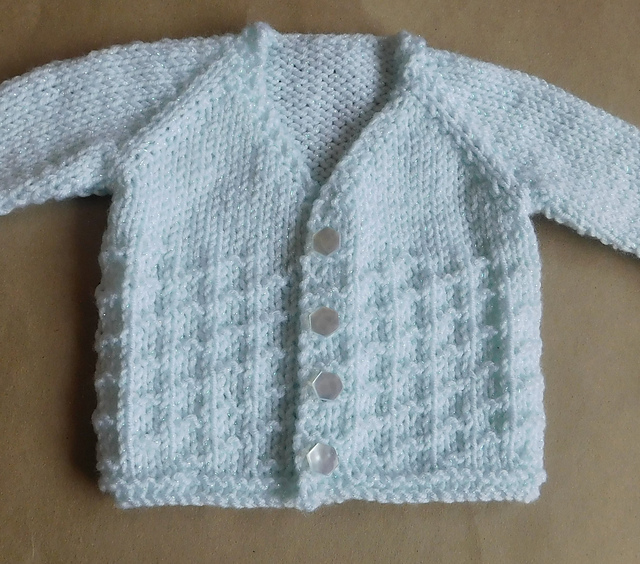 Ravelry Nevis Top Down V Neck Baby Cardigan Jacket Pattern By