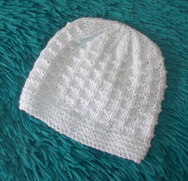Mariannas Lazy Daisy Days Knitted Baby Hats Top 30