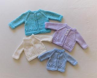7717e91a1d58 Ravelry  Grace Baby Cardigan Jacket pattern by marianna mel