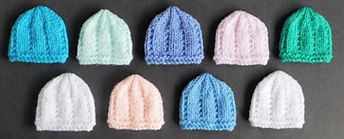 Ravelry  Jack   Jill Micro-Preemie Baby Hats pattern by marianna mel 0529f591091