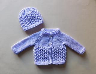 9e71f30cff8d Ravelry  Melika Baby Cardigan Jacket pattern by marianna mel