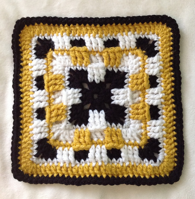 Ravelry Checkerboard Square Pattern By Melissa Green