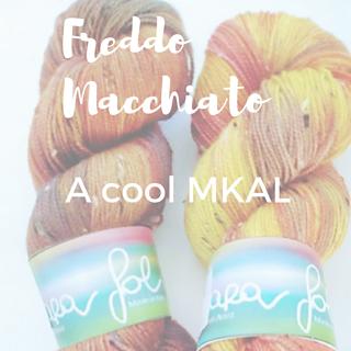 Freddo Macchiato MKAL pattern by Maria Zilakou