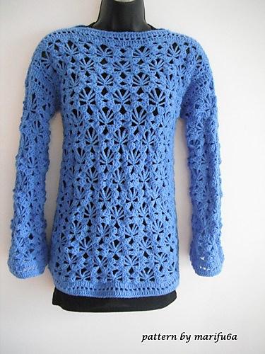 Ravelry Crochet Pullover Pattern By Marifu6a