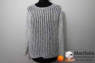 22b840f1e Ravelry  easy pullover sweater pattern by marifu6a