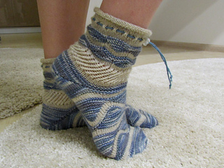 socken stricken mit verk rzten reihen my blog. Black Bedroom Furniture Sets. Home Design Ideas