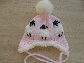 529969dc6e5 Ravelry  Baby Sheep Hat Booties pattern by Marilyn Ireland