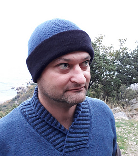 "Men's hat ""Mark"" pattern by Marina Grechman"