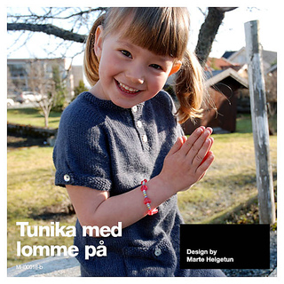 fd63ffdd8 Ravelry: Tunika med lomme på pattern by Marte Helgetun