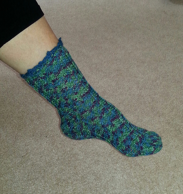 Ravelry: Easy Crochet Socks pattern by Mary Jane Hall