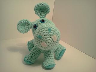 Free Amigurumi Hippo Pattern : Ravelry owen baby hippo amigurumi stuffed hippopotamus pattern by
