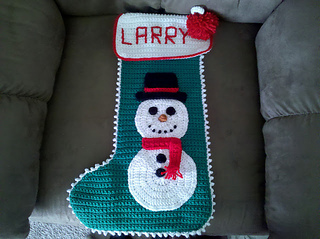 Ravelry: Christmas Stockings to Knit and Crochet: Santa Claus Stocking patter...