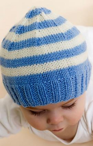 Ravelry Stripe Knit Baby Hat Pattern By Candi Jensen