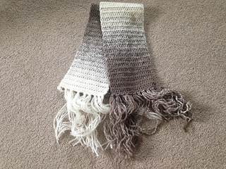 Ravelry One Ball Crocheted Scarfie Pattern By Lion Brand Yarn