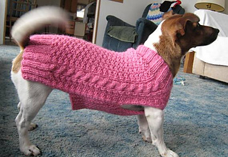 Ravelry: Dog Sweater pattern by Kathryn McConaghie