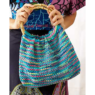 Ravelry: Psychedelic Hobo Bag pattern by Lily / Sugar'n Cream