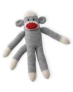 Basic Knit Sock Pattern : Ravelry: Basic Knit Sock Monkey pattern by Patons