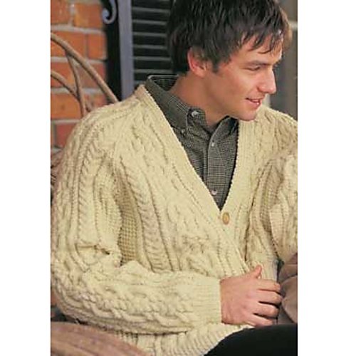 Ravelry Dads Cardigan Pattern By Patons