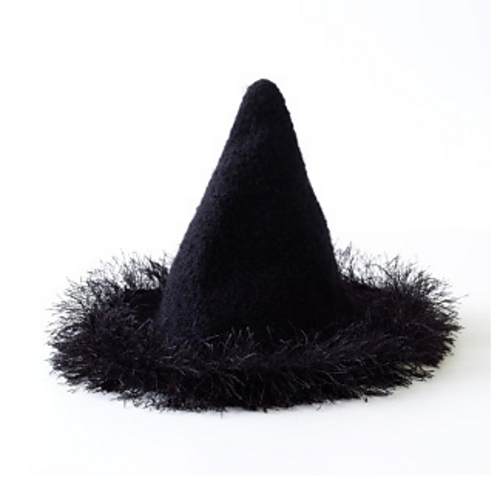 Ravelry Felted Witch Hat Pattern By Lion Brand Yarn