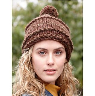 Ravelry  Knit Hat  70436AD   Tweed Beginner s Hat pattern by Lion Brand Yarn 9ba75132b70