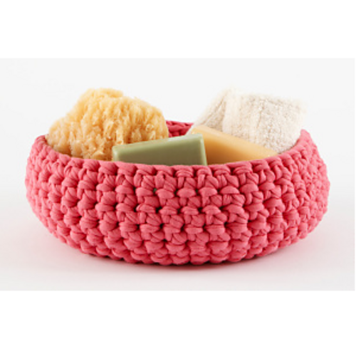 Ravelry Large Crocheted Bowl L10723 Pattern By Lion Brand Yarn