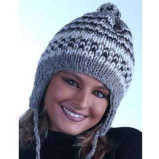 edd1af2fffe Ravelry  Loom-Knit Earflap Hat pattern by Authentic Knitting Board