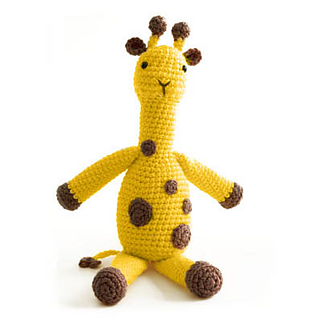 Amigurumi Yarn Type : Ravelry: Amigurumi Georgina / Georgia the Giraffe pattern ...