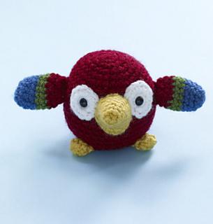 Amigurumi Type Of Yarn : Ravelry: Amigurumi Parrot pattern by Lion Brand Yarn
