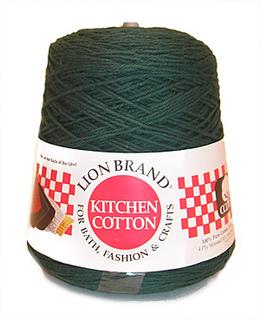 Ravelry Lion Brand Kitchen Cotton Cone